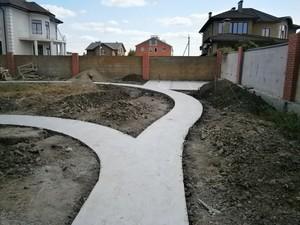Особенности бетонирования двора
