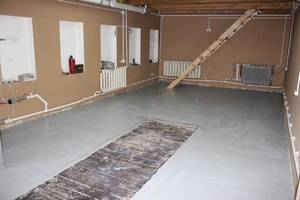 Особенности бетонного пола