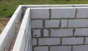Армирование газобетонных стен