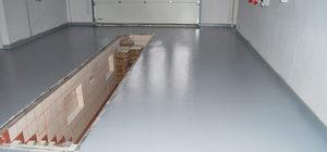 Заливка бетоном пола в гараже