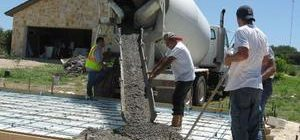Заливка бетона М450